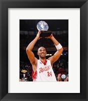Framed Kobe Bryant - '07 All Star Game /  MVP Trophy