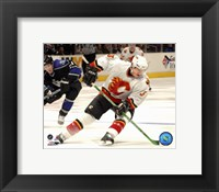 Framed Dion Phaneuf - '06 / '07 Away Action