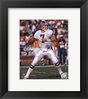 Framed John Elway - 1988 Action