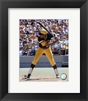 Framed Willie Stargell - Batting Action