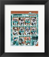Framed 2006 - Dolphins Team Composite