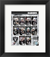 Framed 2006 - Raiders Team Composite