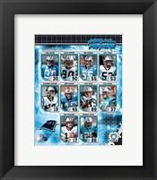 Framed 2006 - Panthers Team Composite