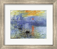 Framed Impression, Sunrise, c.1872