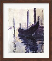 Framed Gondolas in Venice, c.1910
