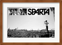 Framed Sparta - Live on stage