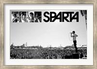 Framed Sparta - Live on stage