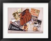 Framed Yankee Memories