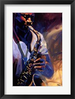 Framed Bourbon Street Blues