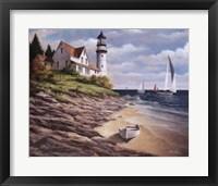Framed Lighthouse I