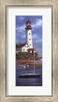 Framed Lighthouse Shoals I