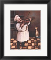 Framed Chef I