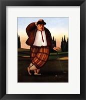 Framed Golf Putt