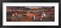 Tuscan Sunset Framed Print