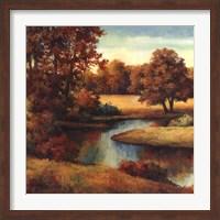 Framed Lakeside Serenity I