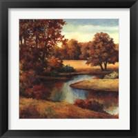 Lakeside Serenity I Framed Print
