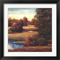 Framed Lakeside Serenity II
