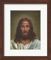 Framed Head Of Christ