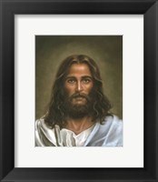 Framed Head Of Christ