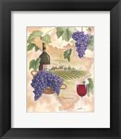 Framed Toscana - Bella Vino