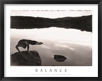 Framed Balance - Yoga