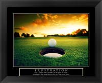 Framed Frustration - Golf Ball