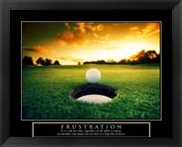 Framed Frustration - Golf Ball