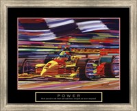 Framed Power-Formula 1