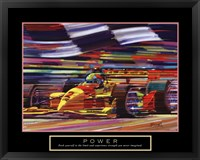Framed Power-Formula 1