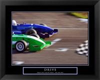 Framed Drive-Race Car