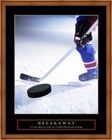 Framed Breakaway-Slap Shot