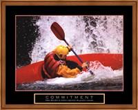 Framed Commitment - Kayak
