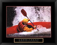 Framed Commitment - Kayak