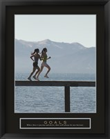 Framed Goals - Joggers