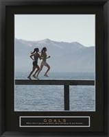 Framed Goals - Joggers