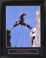 Framed Success - Rock Jumper