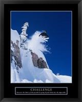 Framed Challenge - Skier