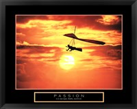 Framed Passion - Hang Glider