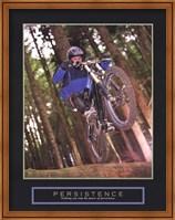 Framed Persistence - Dirt Bike