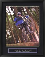Persistence - Dirt Bike Framed Print