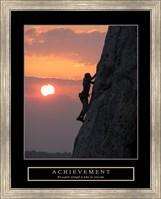 Framed Achievement - Climber