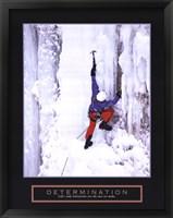 Framed Determination - Ice Climber