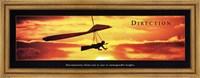 Framed Direction - Hang Glider