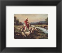 Framed Jesus The Shepherd (Verse)