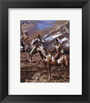 Framed War Party I