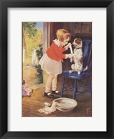Framed Playing Nurse - Sick Dog