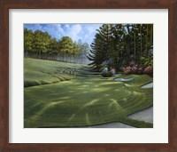 Framed Azalea Hole Golf Course