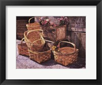 Framed Stacked Baskets