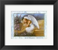 Framed Angel at Rest