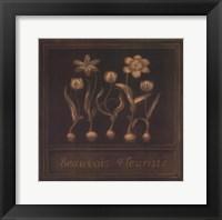 Framed Beauvois Fleuriste